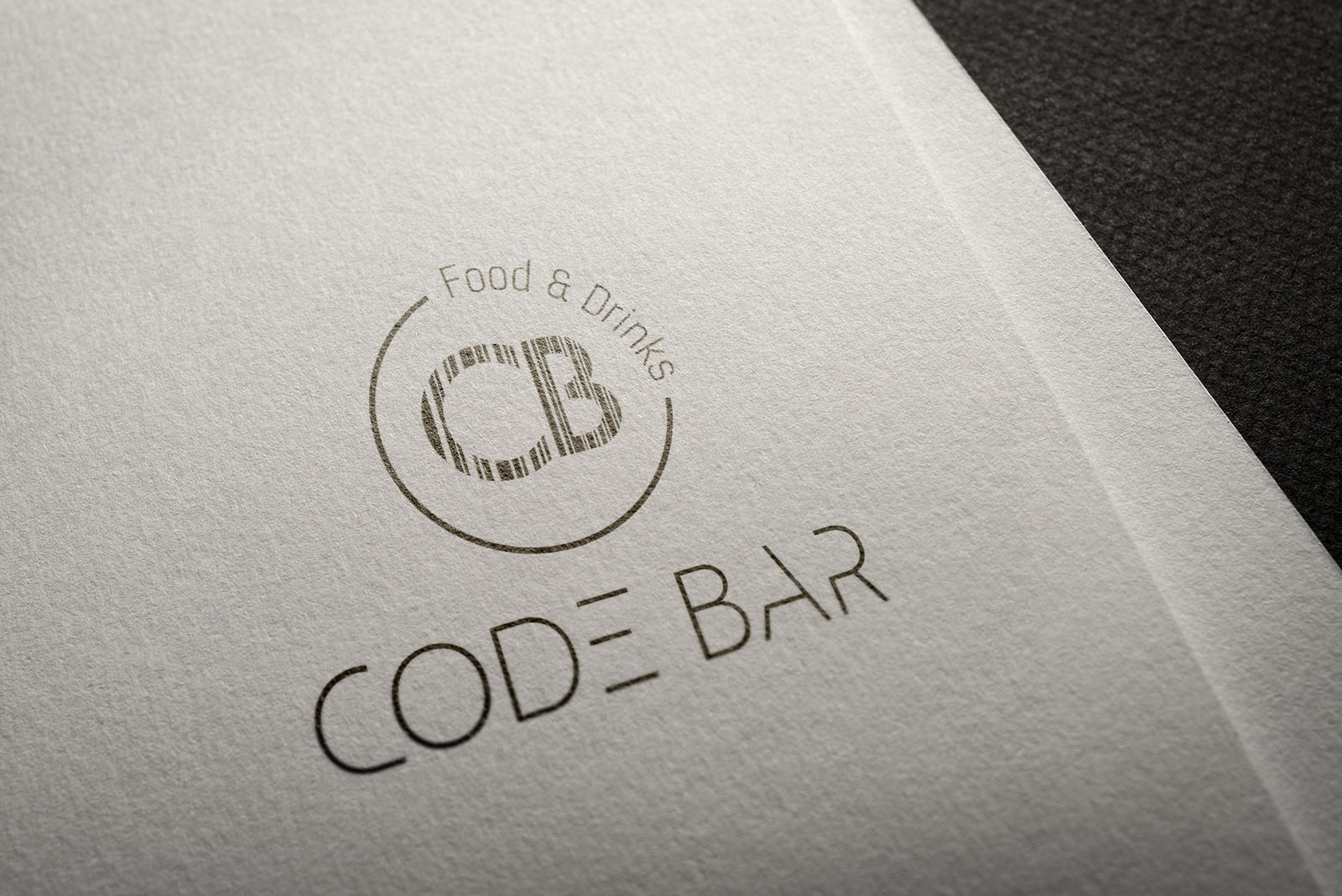 Logo for a coffe