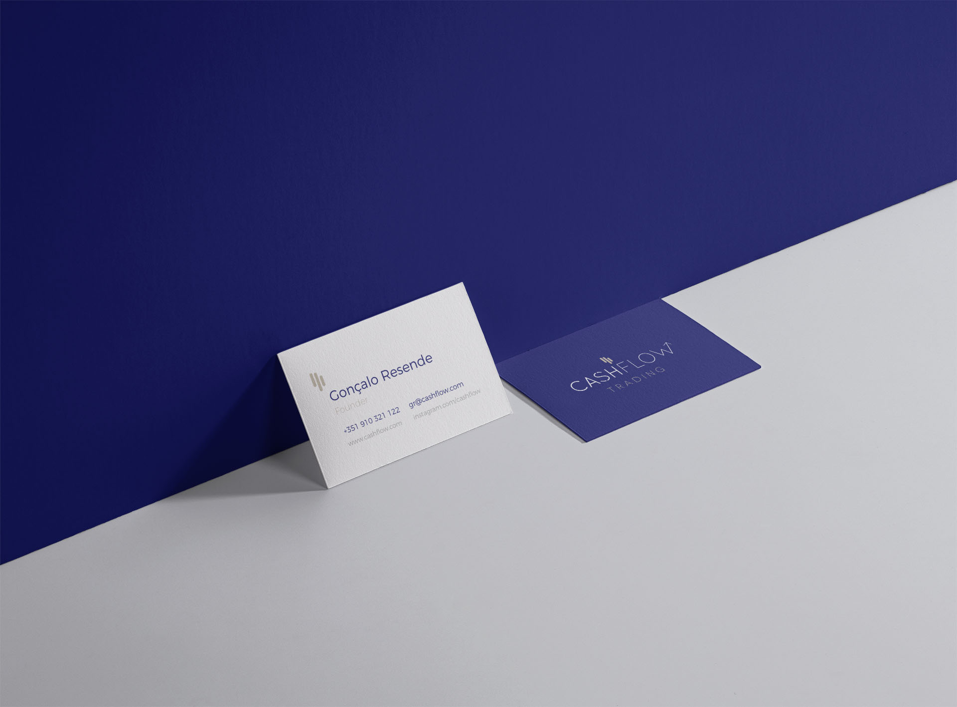 Business card for traders